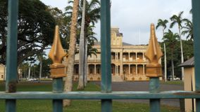 Cursore sparato del palazzo di iolani a Honolulu archivi video