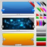 Cursori & nastri di Web Fotografia Stock