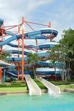 Cursori, parco dell'acqua. Fotografie Stock