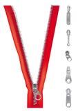 Cursors zip Stock Image