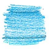 Cursos coloridos da escova da cera Imagem de Stock