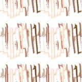 Cursos da escova Fotografia de Stock
