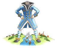 Cursos de Gulliver Fotos de Stock Royalty Free