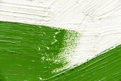 Cursos grossos da escova de pintura Imagem de Stock