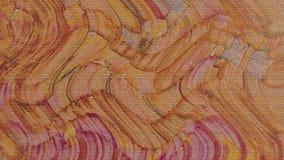 Cursos ondulados da cor Textura do curso da escova da pintura & da tinta do Grunge Respingo da água no papel foto de stock