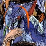 Cursos sem emenda teste padrão da pintura ou textura, vetor ilustração do vetor