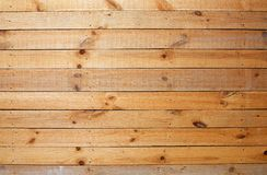 curt ściana drewniany żółty Zdjęcie Royalty Free
