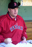 Curt Schilling Boston Red Sox. Former Boston Red Sox pitcher and founder of 38 Studios Curt Schilling Stock Image