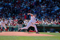 Curt Schilling Boston Red Sox Lizenzfreie Stockbilder