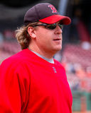 Curt Schilling Boston Red Sox Royalty Free Stock Image