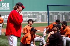 Curt Schilling Boston Red Sox Stock Photo