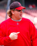 Curt Schilling Boston Red Sox Stock Photography