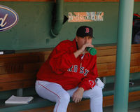 Curt Schilling, Boston Red Sox Stock Images