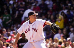 Curt Schilling, Boston Red Sox. Boston Red Sox starting pitcher Curt Schilling Royalty Free Stock Images