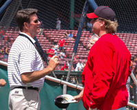 Curt Schilling and Jim Palmer Stock Photography