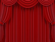 Curtain. Stock Photos