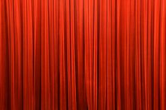 Curtain. Red curtain detail, removed noise, saturated, detail photo, can be used as background Royalty Free Stock Image