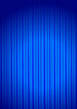 Curtain. Blue velvet theater curtain with center light - vector
