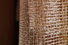 Curtain. Beautiful simple curtain in house Royalty Free Stock Images