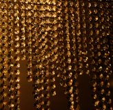 Curtain. Very nice curtain with some glass beads Stock Photos