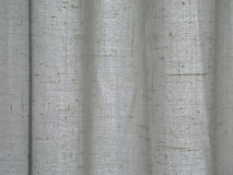 Curtain. Detail of a white curtain royalty free stock image