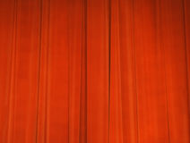 Curtain. Theatrical red curtain in movie-hall Royalty Free Stock Image