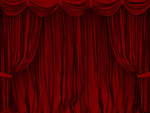 Curtain. The image of a curtain Royalty Free Stock Photo