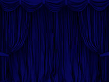 Curtain. The image of a curtain Stock Image