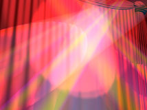Curtain. Background on a theme of representations and concerts Royalty Free Stock Images
