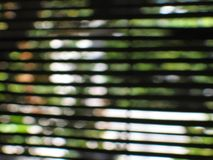 Curtain abstract. Blurred picture of a rattan curtain stock photography
