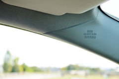 Curtain air bag Royalty Free Stock Image