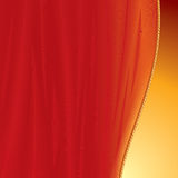 Curtain backdrop. Curtain background for your text or image-vector will be additional royalty free illustration