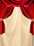Curtain background Royalty Free Stock Photography