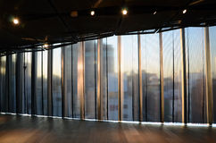 Curtain background in a modern building Royalty Free Stock Photo