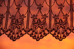 Curtain background Stock Photography
