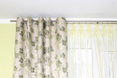 Curtain close-up Royalty Free Stock Photography