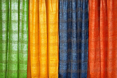 Curtain Color Stock Photography