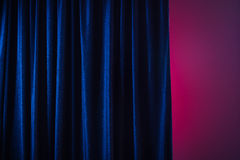 Curtain. Stock Photo