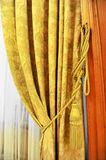 Curtain decorative tassel Royalty Free Stock Image