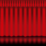 Curtain design Stock Image