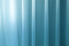 Curtain detail. Blue curtain or fabric detail Stock Image