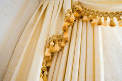 Curtain detail Stock Photos