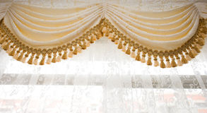 Curtain detail Stock Photography
