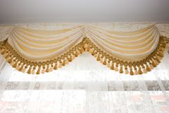 Curtain detail Royalty Free Stock Images