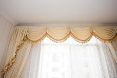 Curtain detail Stock Photo
