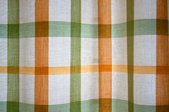 Curtain drapes. Texture of square-shaped curtain drapes Royalty Free Stock Images