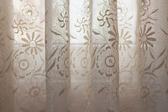 Curtain Embroidery Royalty Free Stock Photo