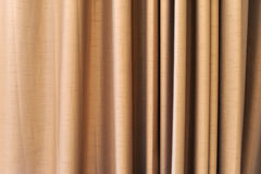Curtain fabric background Stock Photography