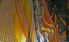 Curtain fragment. Background royalty free stock images