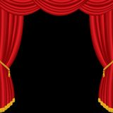 Curtain fringe Royalty Free Stock Photography